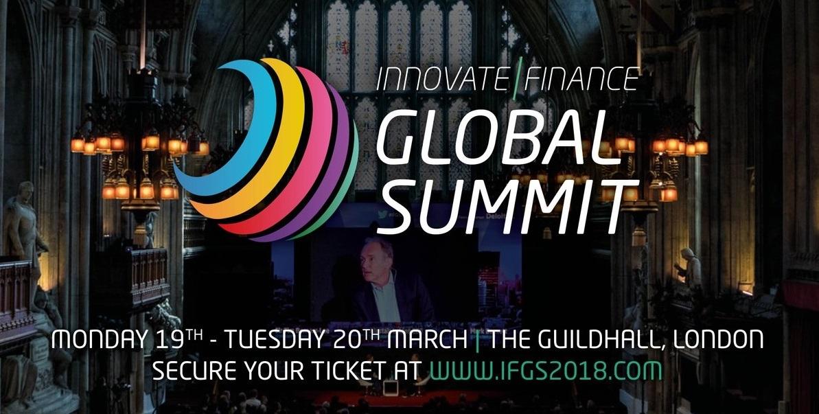 INNOVATE FINANCE GLOBAL SUMMIT 2018